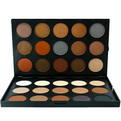 Pure Vie® 30 Colores Sombra De Ojos Paleta de Maquillaje Cosmética - Perfecto para Sso Profesional y Diario