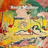 Henri Matisse 8.5 X 8.5 Calendar September 2021 -December 2022: French Painter Post-Impressionist - Monthly Calendar with U.S./UK/ Canadian/Christian/Jewish/Muslim Holidays- Art Paintings