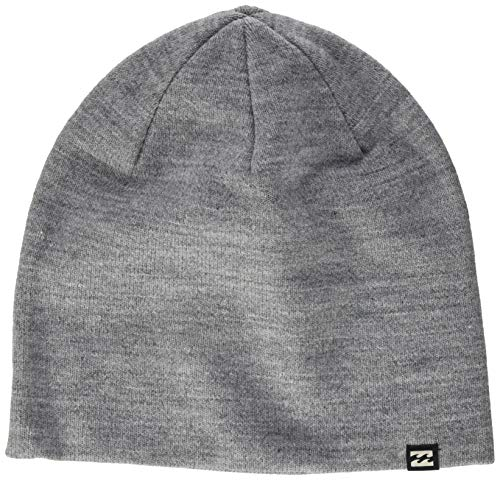 BILLABONG All Day-Gorro para Hombre, Grey Heather, Talla única