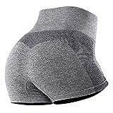 UMIPUBO Pantalones Deportivos para Mujer Medias Deportivas para Mujer Yoga Medias de Yoga elásticas de Cintura Alta Fitness Deportes Estiramiento de Yoga y Pilates(Gris 2, S)