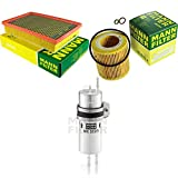 MANN-FILTER - Set di ispezione, filtro del carburante, filtro dell'olio, filtro dell'aria