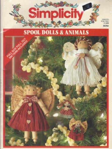 Simplicity Spool Dolls & Animals (Simplicity, 3650)