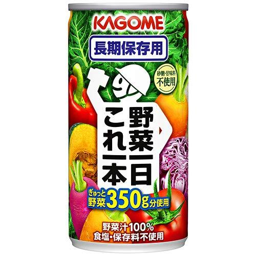 野菜一日これ一本 長期保存用 190g×60本 缶