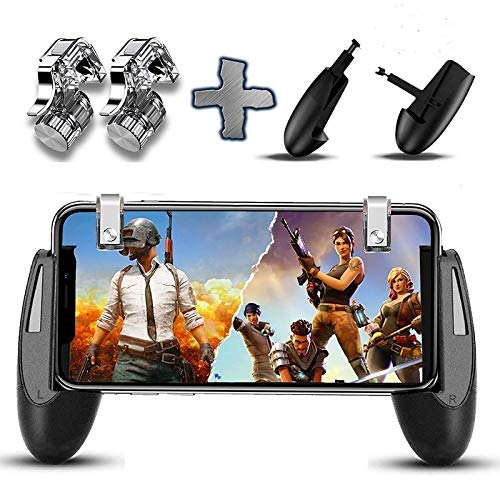 szkn Joysticks for PUBG STG FPS Game Trigger Cell Phone Mobile Controller Fire Button Gamepad L1R1 Aim Key Joystick for iPhone Android