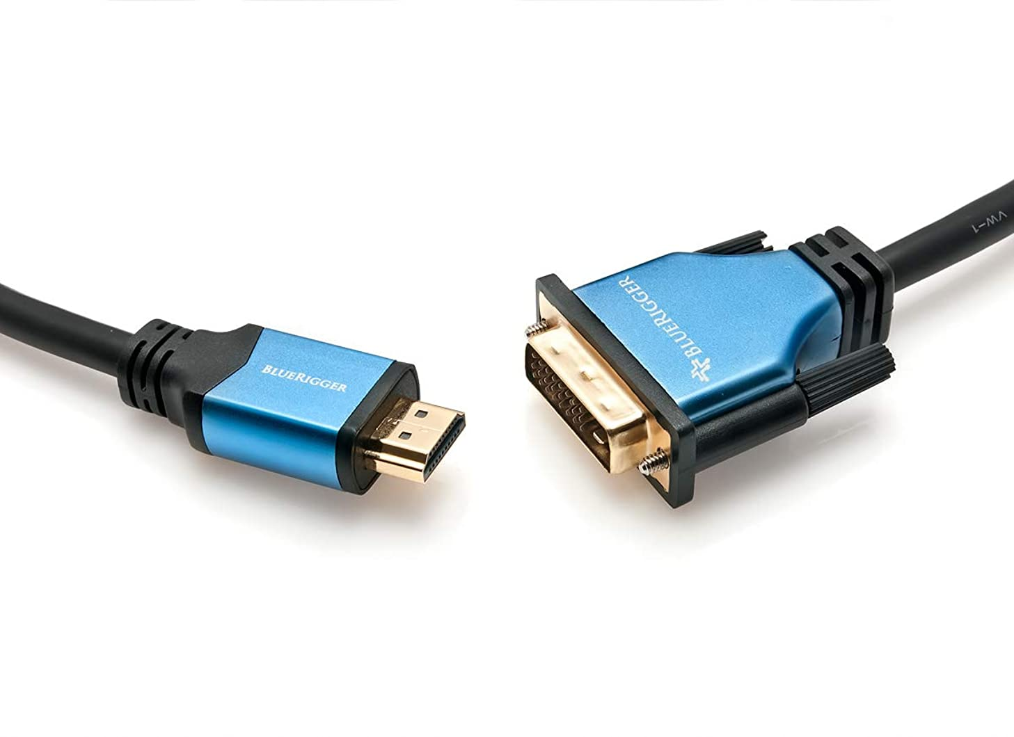BlueRigger High Speed HDMI to DVI Adapter Cable (25 Feet)