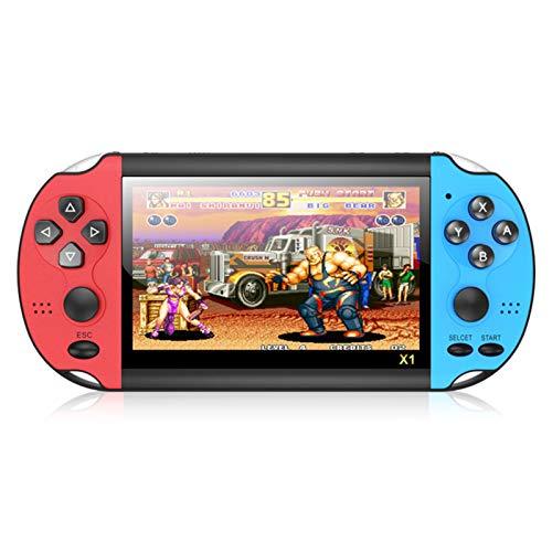 RUIMING X1 Console de 4,3 polegadas Console de Jogo Clássico Nostalgic Dual-Shake Console de Jogo 8G Embutido em 10.000 jogos