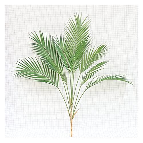 JIAN Nordische Simulationsanlagen Hand Palmblatt Streuung Schwanz Sonnenblume Home Hochzeit Dekoration Blume Grün Pflanzen Fotografie Requisiten Exquisite (Color : 9 Branches)
