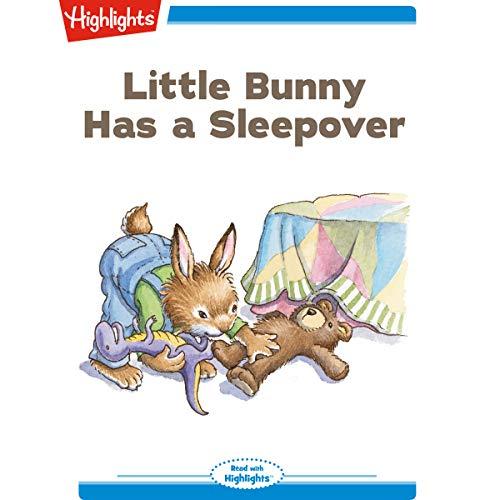 Little Bunny Has a Sleepover copertina
