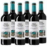Vino tinto Viñas del Vero Cabernet Sauvignon-Merlot de 75 cl - D.O. Somontano - Bodega Gonzalez Byass (Pack de 6 botellas)