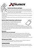 Xcelenze - Tragbare Fenster Verdunkelung in einer Minute angebracht| 2m x 1,45m schwarz | Reise Verdunklungsrollo mit Mikro Saugnapf und 3x stärkerem Halt - 8
