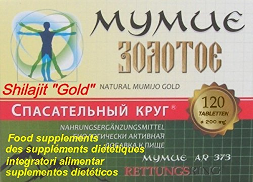 MUMIJO'Gold' - Мумиё (MINERALERDE), 120 Tabletten