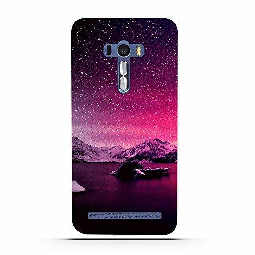 FUBAODA für Asus ZenFone Selfie ZD551KL Hülle, Schöne Aurora Night Series TPU Case Schutzhülle Silikon Case für Asus ZenFone Selfie ZD551KL