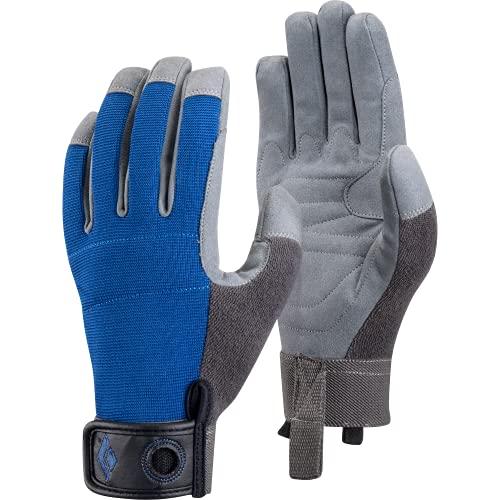 Black Diamond - Crag - Gants - Mixte Adulte - Bleu (gris) - L