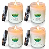 Citronella Candles Outdoor Indoor   Handmade Home Scented Jar Candles Gift Set for Women Men   Soy Wax Candles Aromatherapy Candle for Home Garden Patio Perfect for Christmas Valentine's Day Birthday