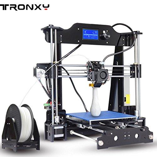 Tronxy X8I3S Stampante 3D fai da te ad alta precisione, struttura in acrilico, dimensione di stampa 220x 220x 200mm, idea regalo