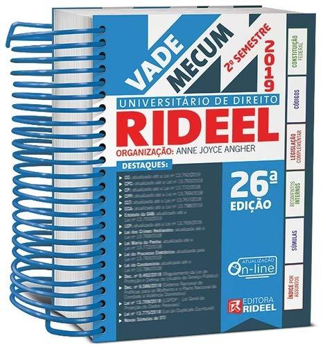 Vade Mecum Universitário de Direito Rideel - 2º Semestre 2019 - Espiral