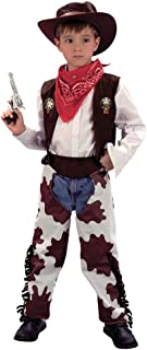 California Costumes Niño salvaje oeste rodeo cowboy Sheriff