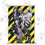 Cartoon world Blood Lad Home Decor Japanese Poster Wall Scroll Art New Cosplay Anime