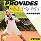 Sparthos Tennis Elbow Band (Pack of 2) - Effective Tendonitis & Golf Elbow Strap for Support - Adjustable Brace with Gel Compression Therapy Pad - Relieves Tendinitis and Forearm Pain #2