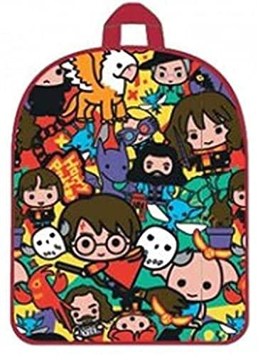 Zaino per bambini Zainetto Asilo Infanzia per la Scuola e tempo libero con chiusura lampo (Harry Potter)