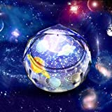 Pussan Star Projector Night Light for Kids Toys for 2-6 Year Old Girls Gifts Kids Star Night Light Projection Lamp with 5 Sets of Film Room Lights Easter Birthday Gifts for Kids XKD-1