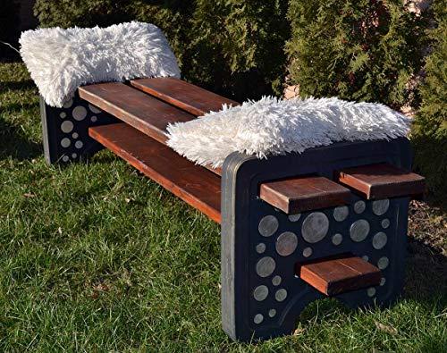 abc outdoor benches Concrete Mold Bench Leg for Concrete Cement ABC Plastic Mold Sold 1 Piece B05