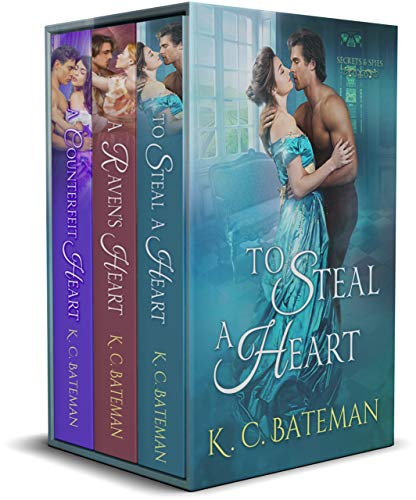 Secrets & Spies Box Set: Includes To Steal A Heart, A Raven's Heart, and A Counterfeit Heart. (English Edition)