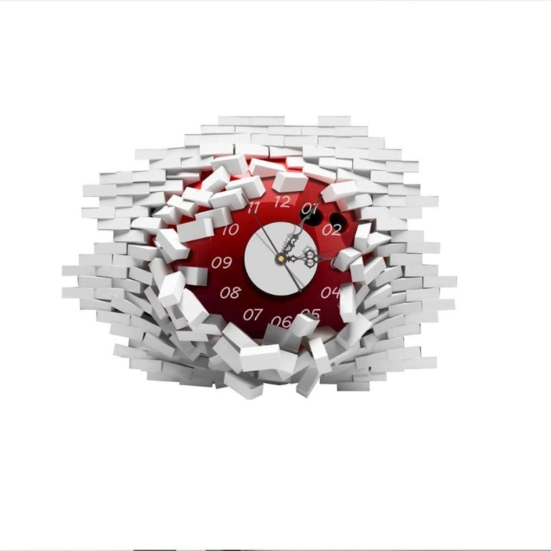 con 60% de descuento GONGFF Reloj de de de Etiqueta de Parojo 3D, Reloj de Bola Creativa, Adecuado para Sala de Estar Dormitorio, 20.7  14.9 Pulgadas, Bola  el precio más bajo