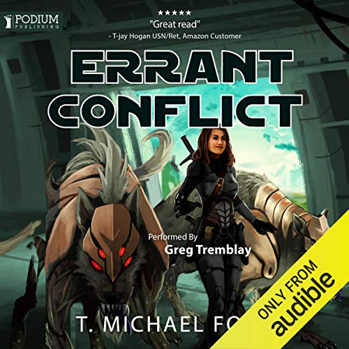 Errant Conflict audiobook cover art
