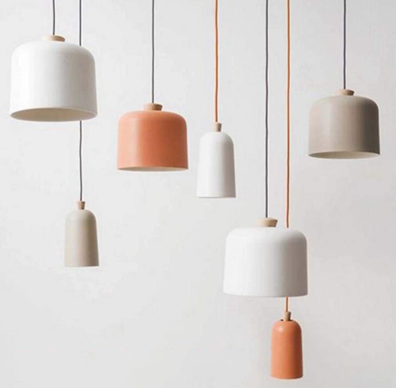 Leader Einfache Esstisch Aluminium Kronleuchter, kreative Studie Cafe Kronleuchter, Bar Schlafzimmer Showroom Kronleuchter,Orange,A