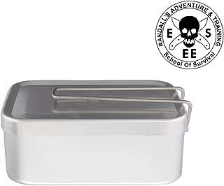 ESEE アメリカ正規品 キャンプ用メスティン アルミ飯盒 ハンゴウ クッカー バーべキュー アウトドア炊飯 調理器具 サバイバル メスキット (MR-990)