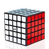TOYESS Cubo Mágico 5x5, Speed Cube Paquete de Regalo de Juguete de Rompecabezas para Niños y Adultos, Negro