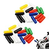 36 PCS RC Transmitter Switch Covers Colorful Rubber Anti-Slipping Cap for Jumper T16 T18 FrSky X9D QX7 Flysky Spektrum DX8e