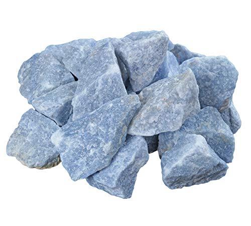 Blauquarz Rohsteine 300 gramm