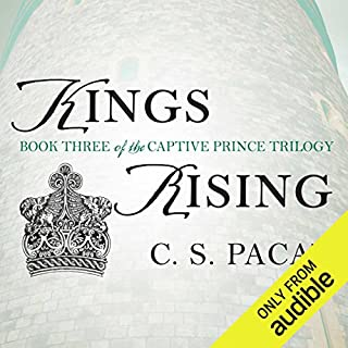 Kings Rising audiobook cover art