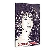 Mariah Carey Sängerin Leinwand Poster Schlafzimmer Dekor