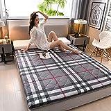 Wildboo Japón Tatami Suelo Futón Colchón, Plegable Respirable Cómodo Colchón Sleeping Pad Almohadilla Alfombrilla De...
