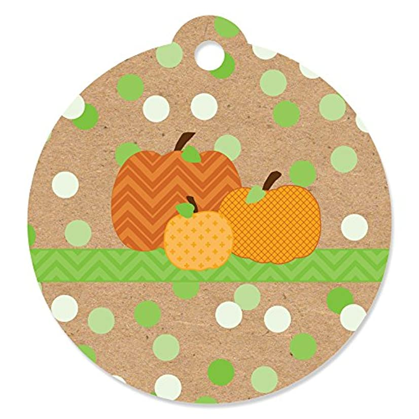 Pumpkin Patch - Fall & Thanksgiving Party Favor Gift Tags (Set of 20)