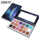 Qibest Mercury Eyeshadow Palette Bold Color Eye Shadow Matte Warm...