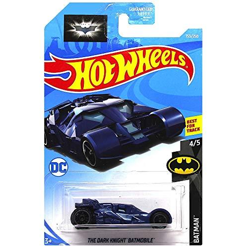 Hot Wheels The Dark Knight Batmobile Diecast Car 1:64 Scale
