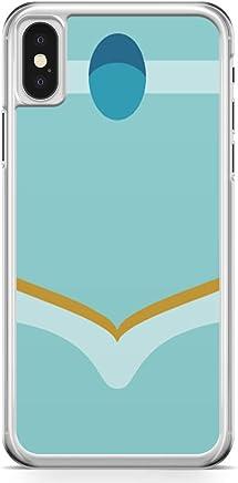 Loud Universe Princess Jasmine Attire iPhone X Case Aladdin Cartoon Network iPhone X Cover with Transparent Edges