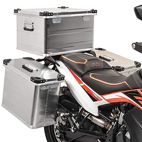 Maletas Laterales 34-34L Baul 64L para Honda Transalp XL 700/650 / 600 V