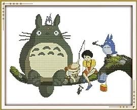 Happy Forever Cross Stitch, Cartoon, my neighbor totoro 1