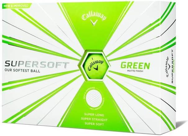 Callaway Golf Supersoft Golf Balls 2019