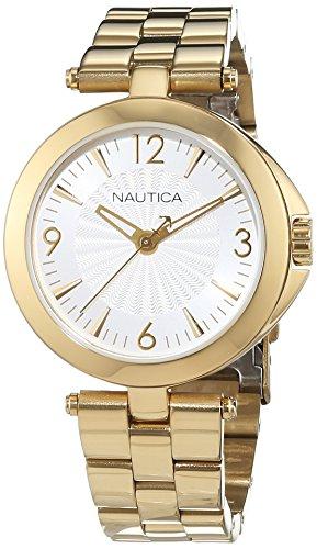 Nautica Reloj Analógico para Mujer de Cuarzo con Correa en Acero Inoxidable 0656086079654