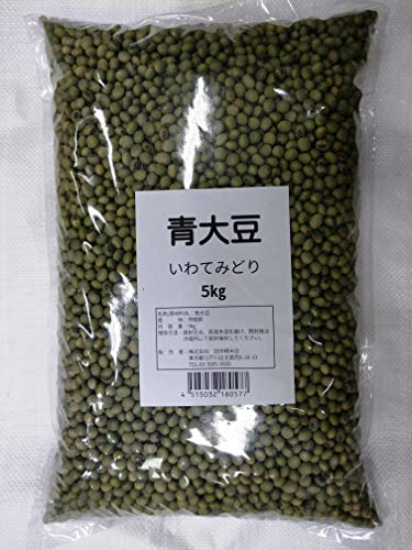 大粒青大豆いわてみどり8ミリ以上 5�s
