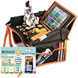 Product Image of the Kids Travel Tray for Toddler Car Seat | Toddler Car Seat Tray Organizer | Large...