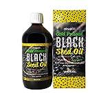 Black Seed Oil 16.9 Fl Oz, Min 3X% Thymoquinone, Cold Pressed, No Pesticides, 100% Organic Black Cumin Nigella Sativa...