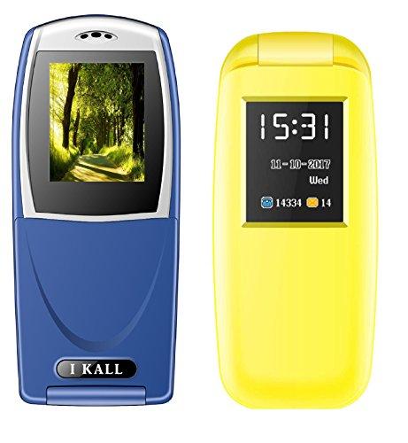 IKALL Flip Mobiles Combo of 18 inch K3312 and K19 New Yello