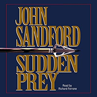 Sudden Prey audiobook cover art